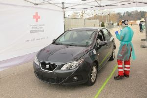 Austrian Red Cross Covid Testing